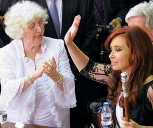 foto: A los 89 años murió Ofelia Wilhelm, la madre de Cristina Kirchner