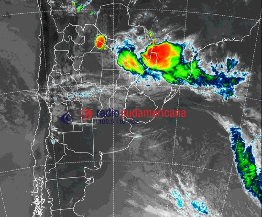 foto: Se renovó el alerta por tormentas para Corrientes y cinco provincias