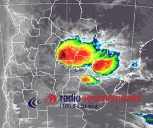 foto: Rige el alerta meteorológico para Corrientes y cuatro provincias