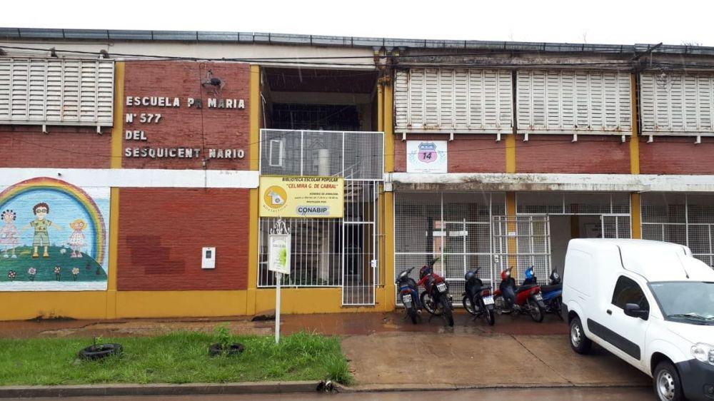 foto: Habilitaron escuelas para contener a los inundados en Resistencia