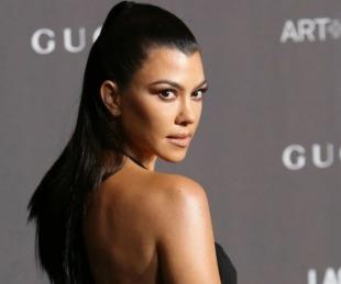 foto: Kourtney Kardashian celebró los 40 con una torta que la mostraba semidesnuda