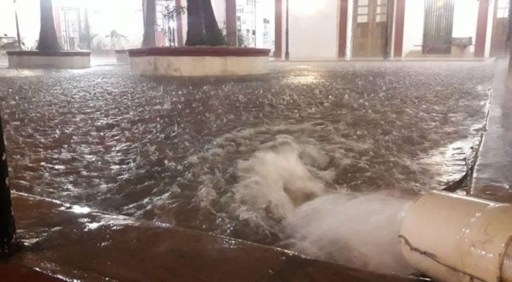 foto: Intensas lluvias afectaron a Goya: en pocas horas cayeron 110 mm