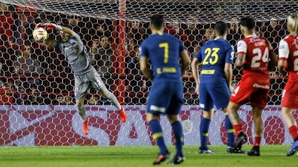 foto: Boca y Argentinos empataron 0-0 en el partido de ida de semifinales