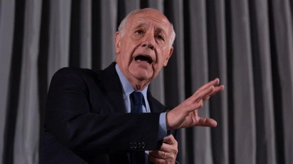 foto: Roberto Lavagna confirmó que será candidato a presidente