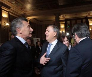 foto: Mauricio Macri recibirá a Juan Schiaretti en la Casa Rosada