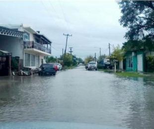 foto: Itatí bajo agua por las intensas lluvias y con 12 familias evacuadas