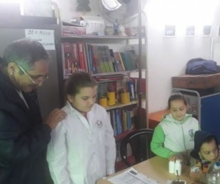 foto: Asisten al campo con operativos médicos en Mora e Ifrán