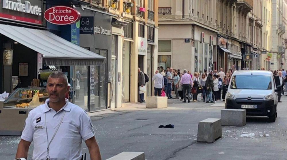 foto: Explotó una bomba en Lyon y hay al menos ocho heridos