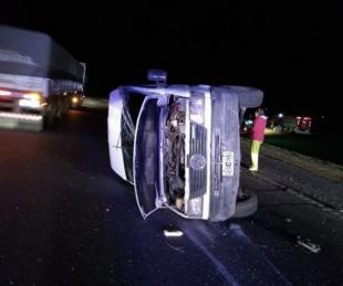foto: El chofer de Urtubey se mató en un accidente en la Ruta 9
