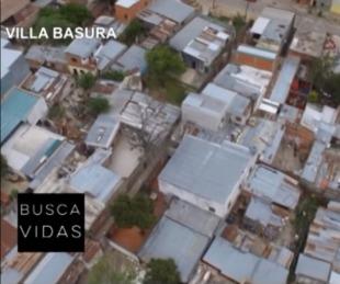 foto: Cómo es el barrio Villa Basura por dentro: informe de Busca Vidas