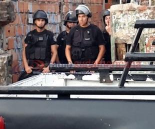 foto: Así fue el megaoperativo de la Policía en el barrio Villa Basura