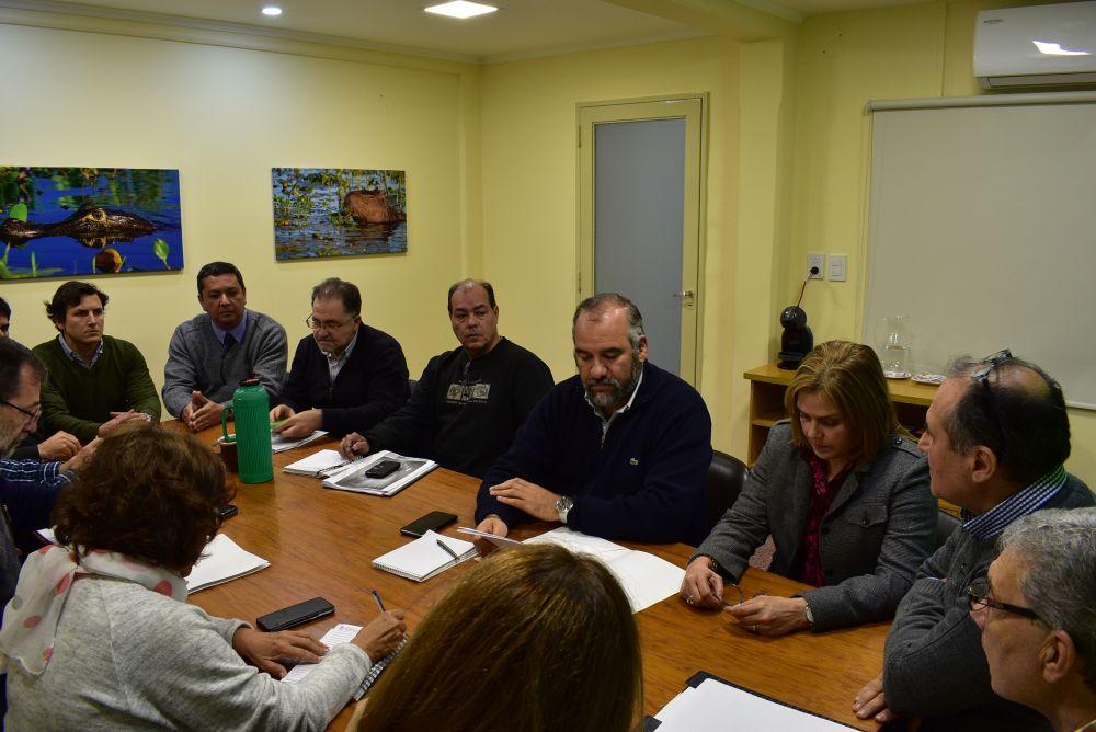 foto: Coordinan tareas para proveer de mas obras al hospital Escuela