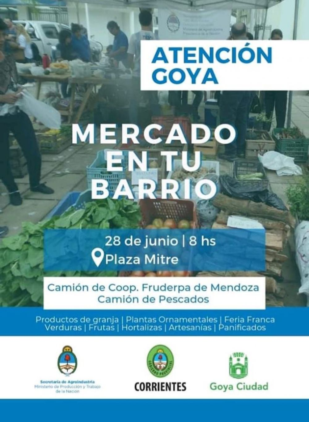 foto: Expectativa por inicio de Programa Mercado en tu Barrio