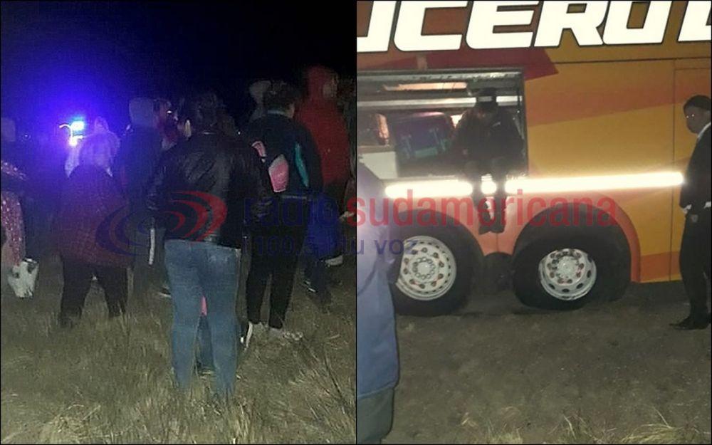Volvían a Corrientes y quedaron varados por más de siete horas