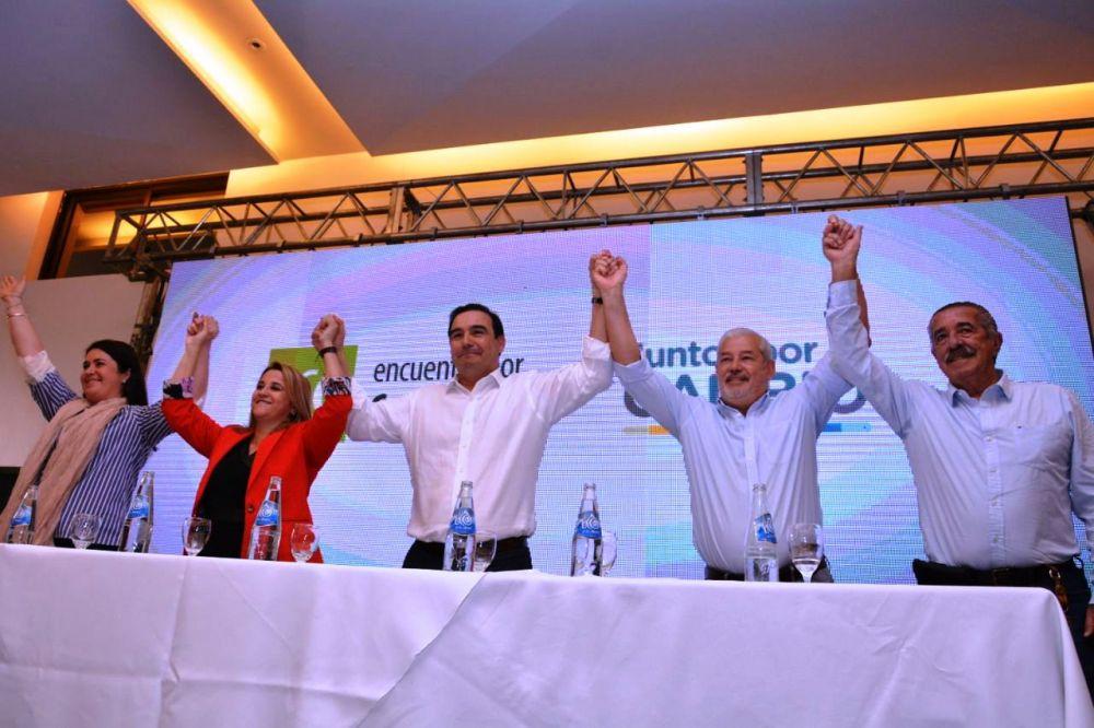 foto: ECO + Juntos por el Cambio presentaron precandidatos