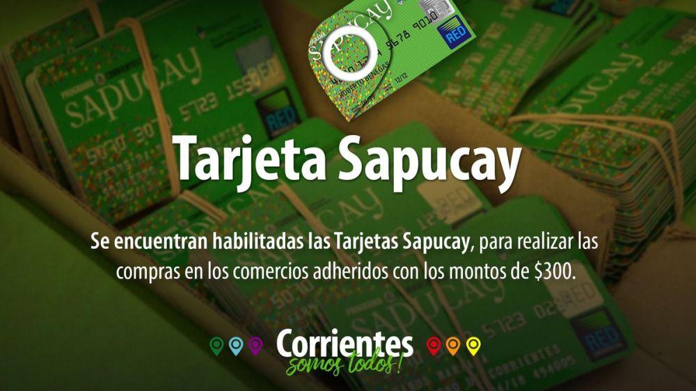 foto: Ya se encuentran habilitadas las tarjetas Sapucay