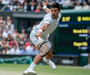 foto: Djokovic le ganó a Federer y es otra vez campeón de Wimbledon
