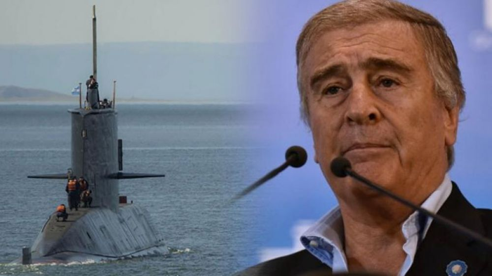 foto: ARA San Juan: Aguad pasará a retiro a dos altos oficiales de la Armada