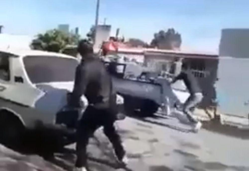foto: Repartidores de gas resistieron a los tiros un intento de robo