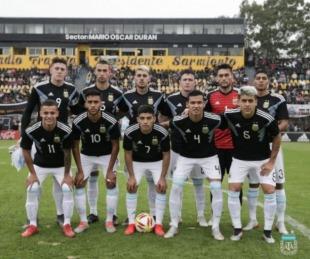 foto: Panamericanos 2019: el correntino Herrera fue titular del Sub 23