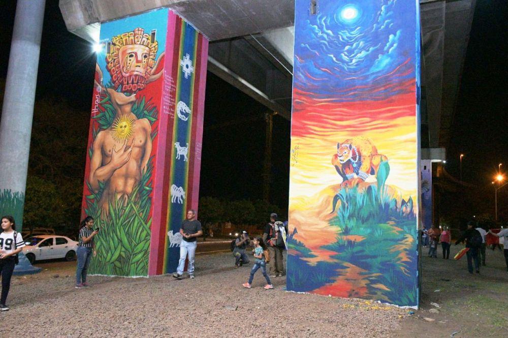 foto: Paseo Iberá: A través del arte, recuperamos un espacio más