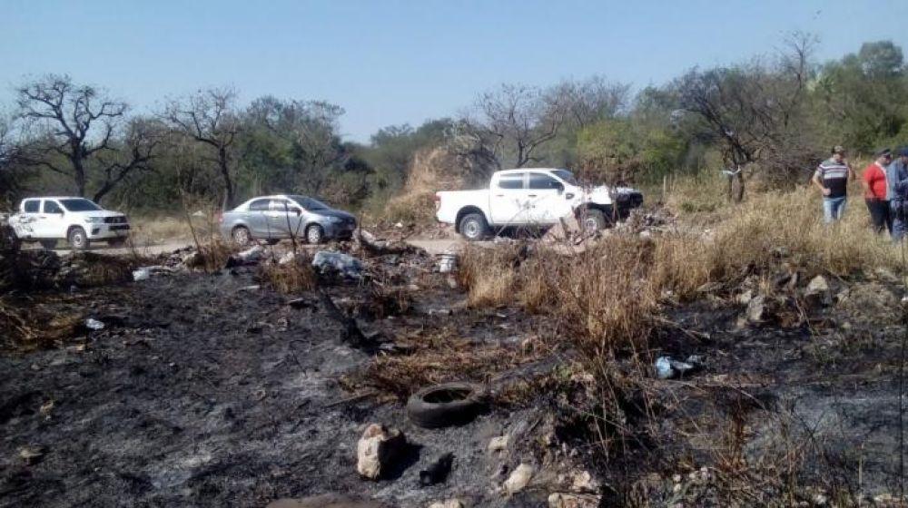foto: Hallan desmayada en un basural a nena de 8 desaparecida en Chaco
