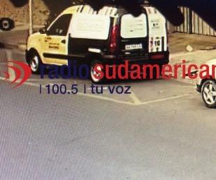 foto: Robaron una camioneta de reparto y la abandonaron en el Bº Pujol