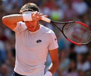 foto: Mayer perdió en primera ronda de Hamburgo
