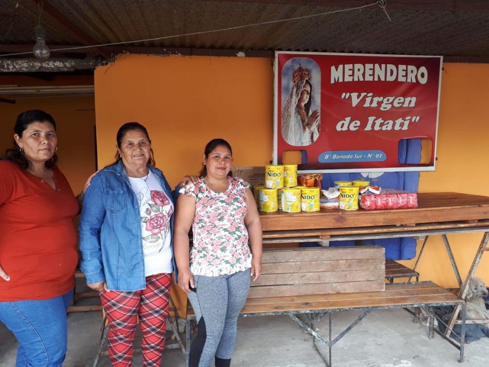 foto: Solidaridad sin Vacaciones se activó en el merendero Virgen de Itatí