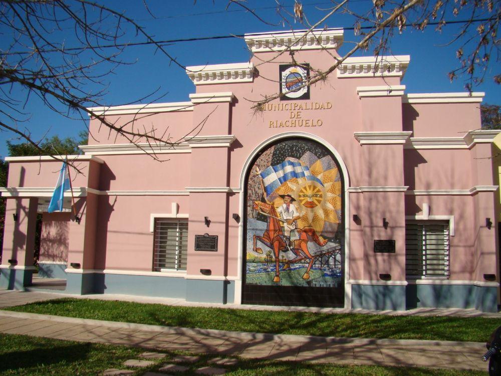 foto: La Municipalidad de Riachuelo recibe a Expoagro