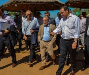 foto: Junto al canciller, el gobernador rendirá honores a San Martín