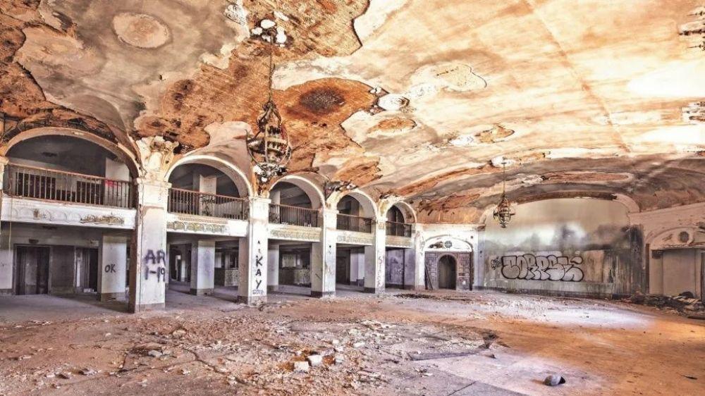 foto: El aterrador edificio donde habitan espíritus