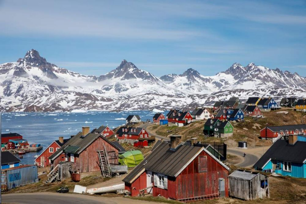 foto: Trump explicó los motivos por los que quiere comprar Groenlandia