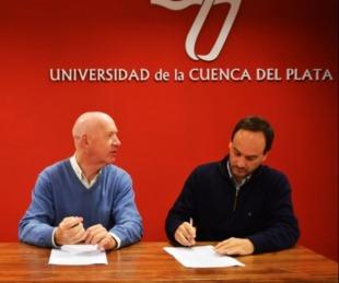 foto: La Comuna y la UCP firmaron un convenio de prácticas profesionales