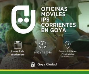 foto: Oficinas móviles del IPS: Este lunes atenderá en Goya