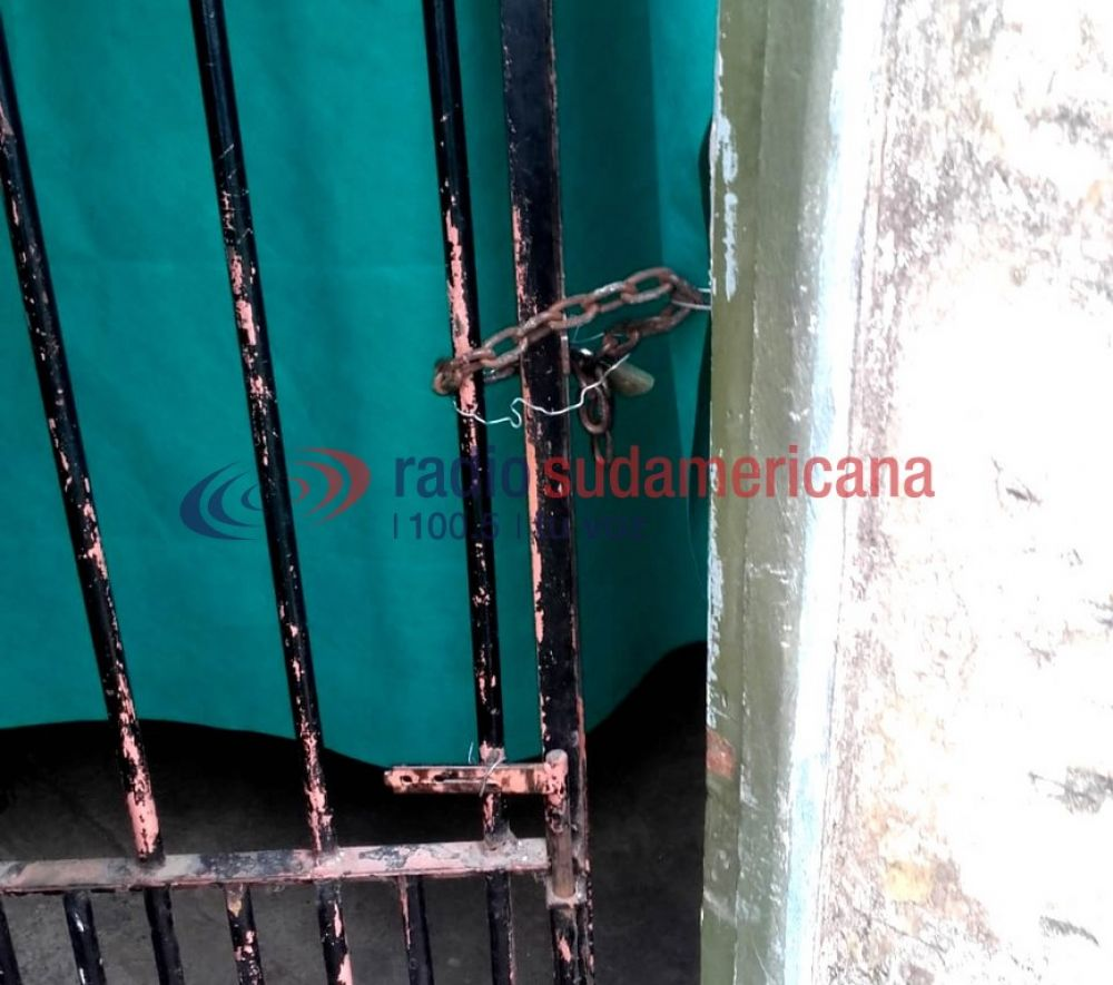 foto: Indignante robo a un comedor: se llevaron dos tubos de gas