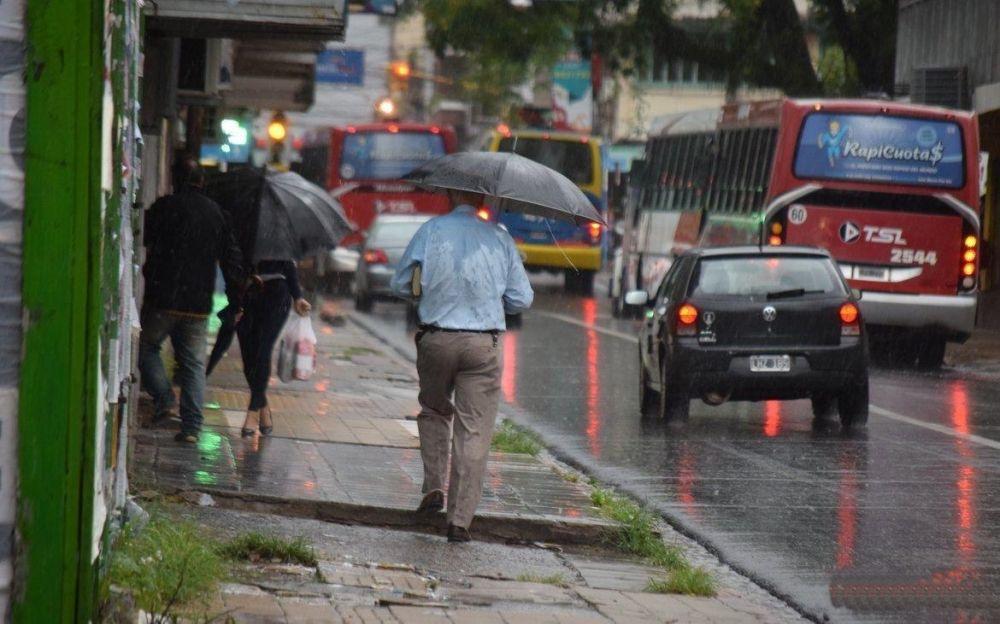 foto: Rige alerta por fuertes lluvias y ráfagas en Corrientes