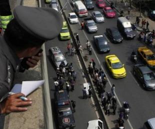 foto: Furor por policía que