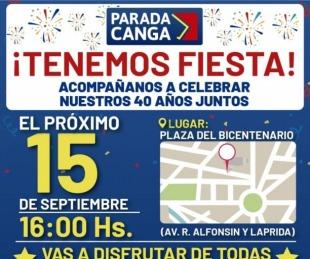 foto: Parada Canga cumple 40 años y lo celebra a lo grande