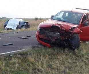foto: Una familia perdió la vida en un siniestro vial cerca de Saladas