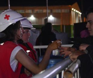 foto: Cruz Roja presente en el Taragüí Rock