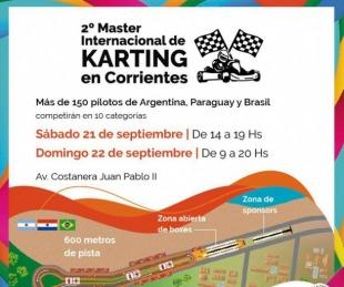 foto: El fin de semana se concretará el Máster Internacional de Karting