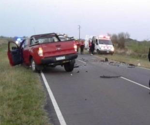 foto: Tragedia en Ruta 13: sigue detenido el conductor de la camioneta