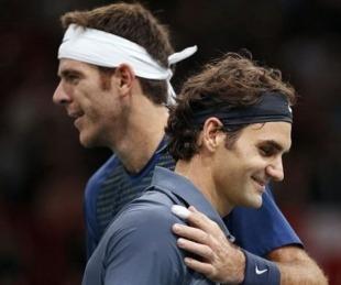 foto: Confirmado: Federer y Del Potro jugarán una exhibición en Argentina