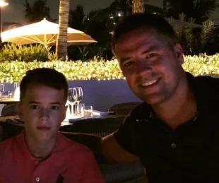 foto: La enfermedad del hijo de Owen que no le permitirá ser futbolista