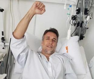 foto: Gabriel Batistuta fue operado y arranca una nueva vida