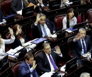 foto: El Senado de la Nación convirtió en ley la Emergencia Alimentaria