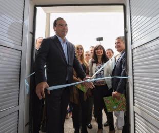 foto: Valdés inauguró el Caps N° 17 y anunció la construcción de un Jardín de Infantes