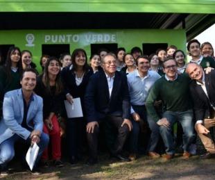 foto: Nuevo lugar para reciclar residuos en el parque Cambá Cuá