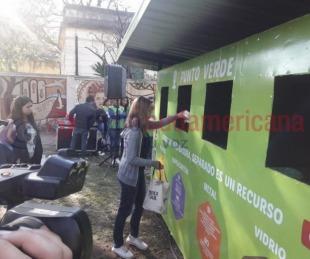 foto: Habilitaron un nuevo Punto Verde en el parque Cambá Cuá